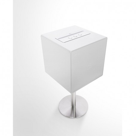 STATION MUSICALE DYNABASS 70W AVEC SUBWOOFER PIANO WHITE