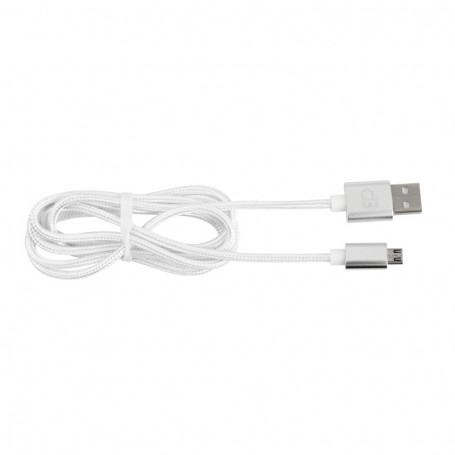 CABLE USBMICRO01 en nylon tressé 120cm