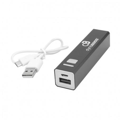 BATTERIE EXTERNE 2600 MAH AVEC CABLES MICRO USB -  MODELE KINGCHARGE03