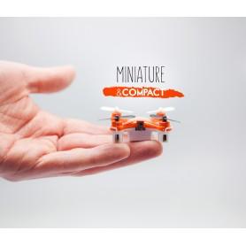 MINI DRONE QUADCOPTERE D'UNE PORTÉE DE 30 M & R - MODELE KATANE ORANGE